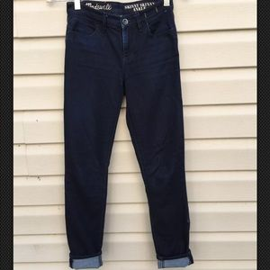 Madewell jeans size 25 skinny women's blue